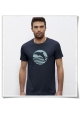 "T-Shirt "" Sunset with Dolphin for men"