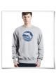 Sweatshirt Sonnenuntergang mit Delfin aus Biobaumwolle