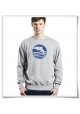 Men's Sweatshirt Sunset with Dolphin ( organic and fair )