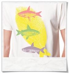 T-Shirt Fliegende Fische Biobaumwolle & Fair Wear