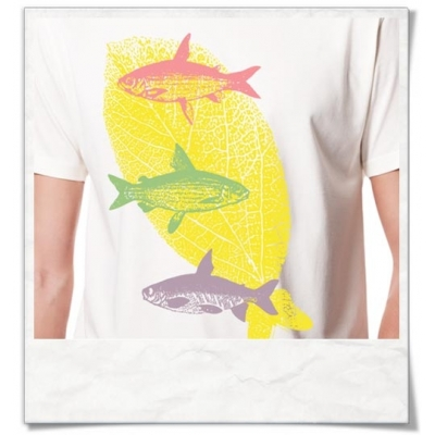 Fliegende Fische :) Männer T-Shirt / Weiss / Fair Bio und Öko