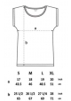 Frauen T-Shirt Schnecke & Schmetterling. Fair hergestellt in Grau